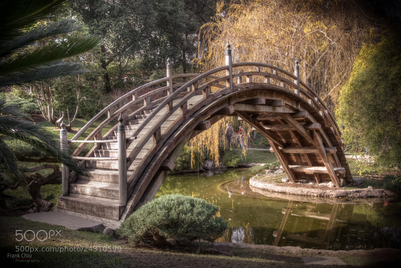 Photograph japanese garden bridge by frank chiu on 500px for Japanese garden bridge
