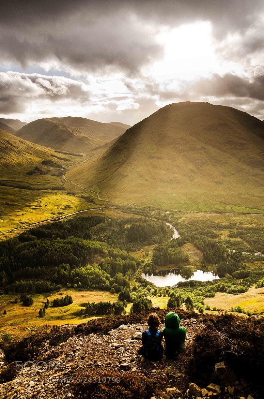 Photograph Glencoe by James Barlow on 500px