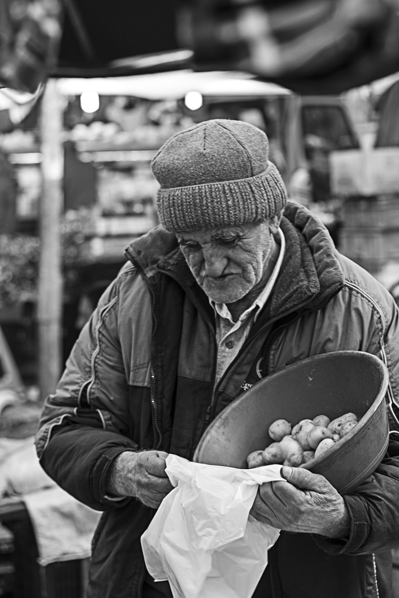 Photograph Baby potatoes & old man by Selim Basak on 500px
