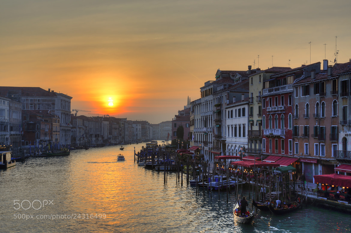 Photograph Grand Canal Sunset by Chris Brownlee on 500px