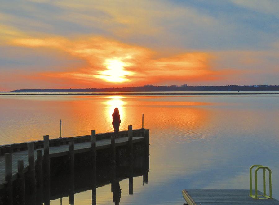 Sunset Spectator, автор — David Heritage на 500px.com