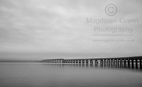 Photograph Mean and Moody View - Tay Rail Bridge - Dundee Scotland by IainGordon on 500px