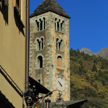 Il campanile dietro l'angolo, Canon EOS 1200D, Canon EF 24-105mm f/4L IS