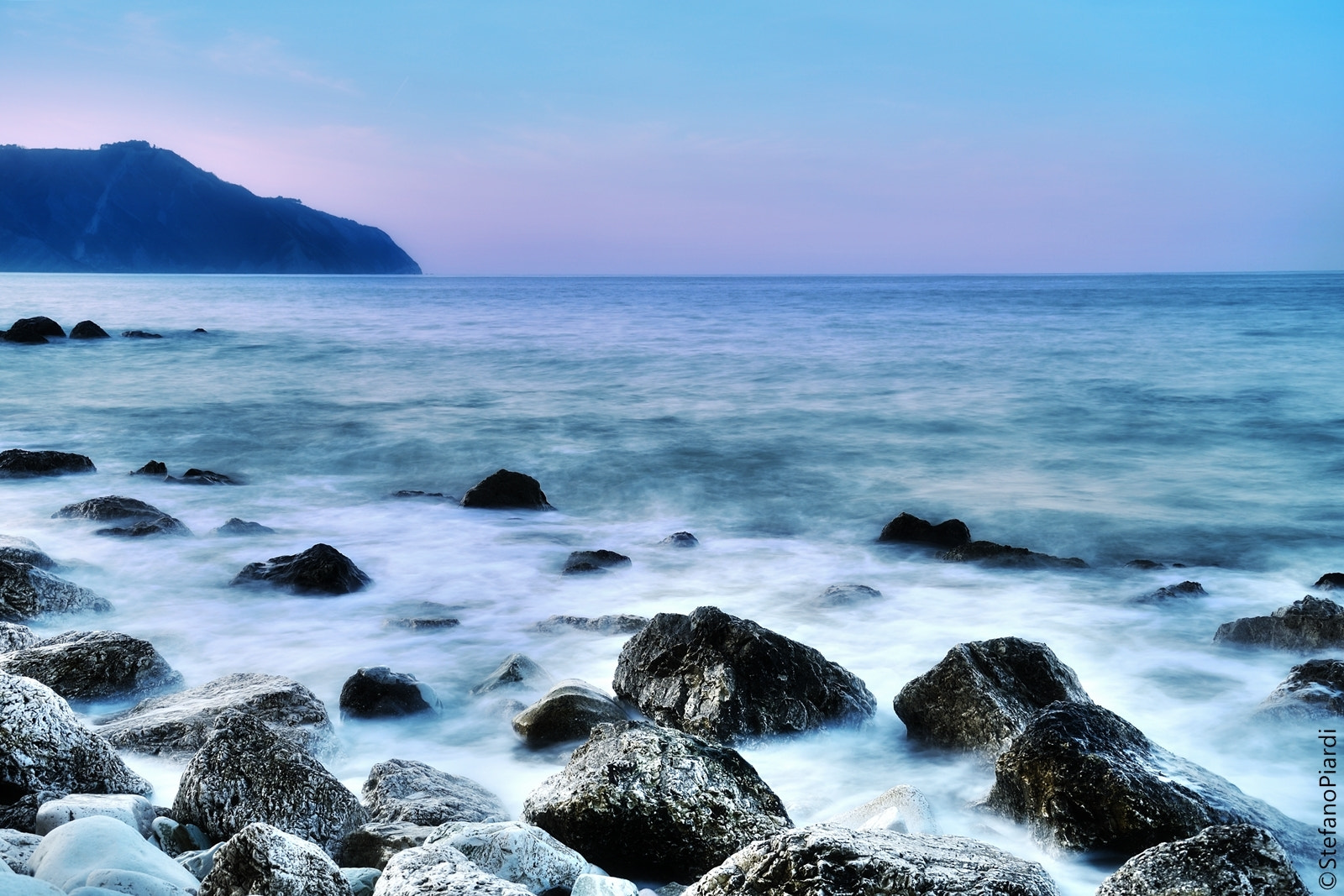 Photograph Waves, blue, pink. by Stefano Piardi on 500px