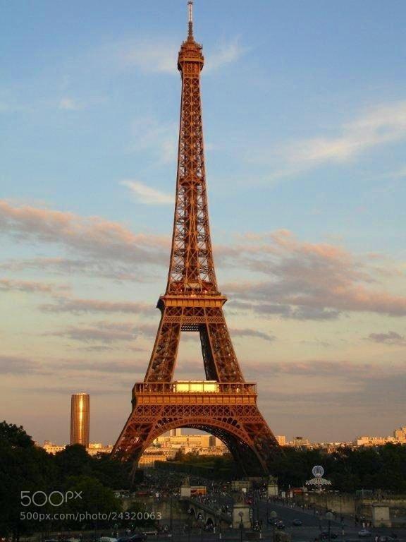 Photograph Eiffel de oro by martavrdez on 500px