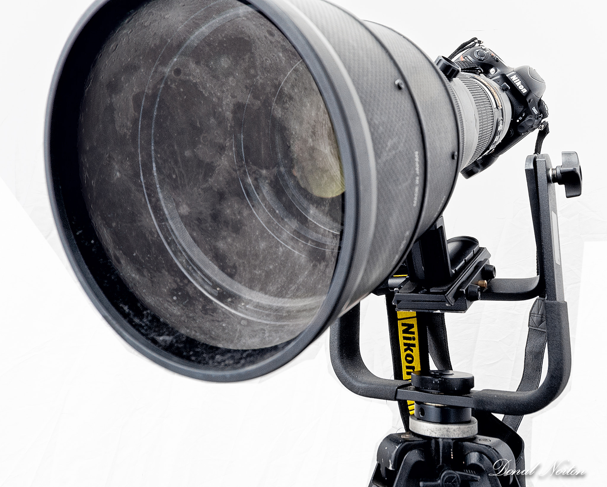 Photograph Need big lens to shoot the moon! by Donal Norton on 500px