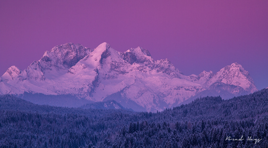 Photograph Cold Alpspitze Sunrise by Brad Hays on 500px