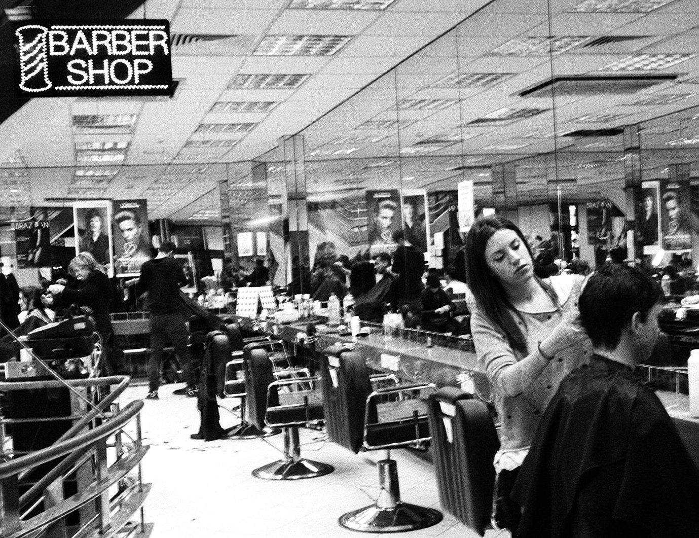 Photograph Late Night Barbershop by Christian Hayes on 500px