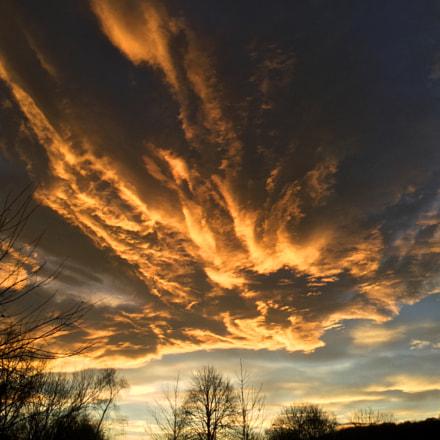 Sunset over Derwenthaugh