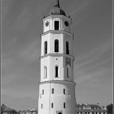 VILNIUS CATHEDRAL BELL TOWER, Panasonic DMC-FZ30