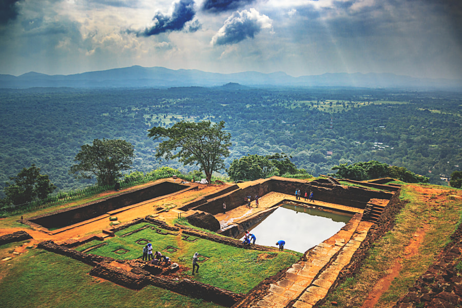 Atop the Sigiriya Rock Fortress, Sri Lanka #15 by Son of the Morning Light on 500px.com