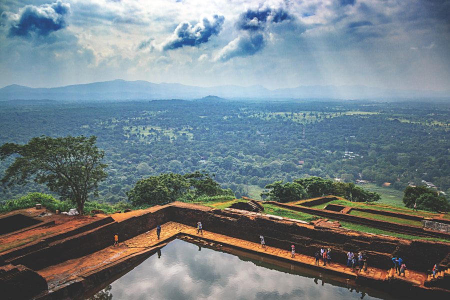 Atop the Sigiriya Rock Fortress, Sri Lanka #17 by Son of the Morning Light on 500px.com