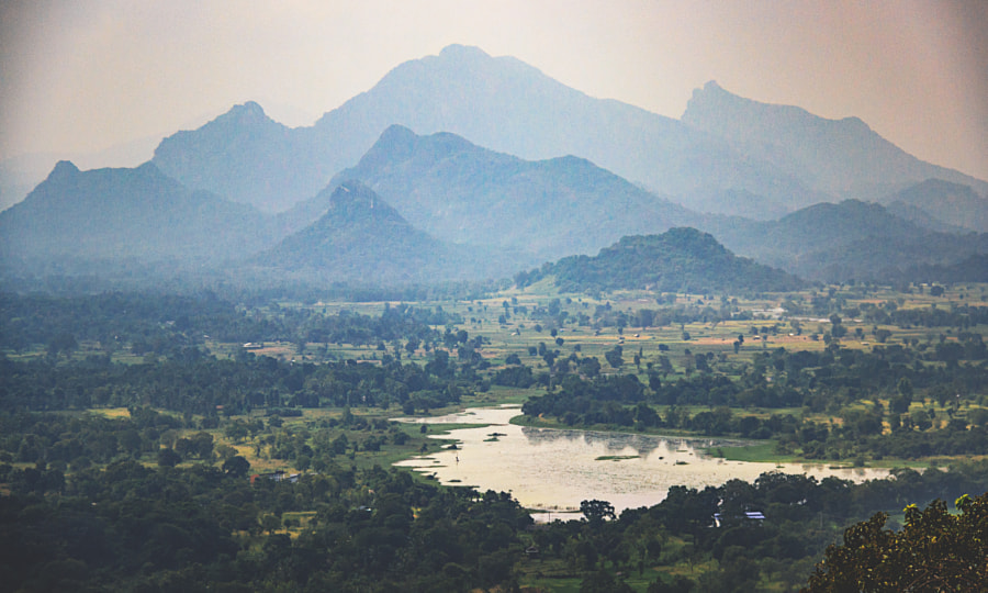 The Central Highlands as Seen from Sigiriya #2 by Son of the Morning Light on 500px.com