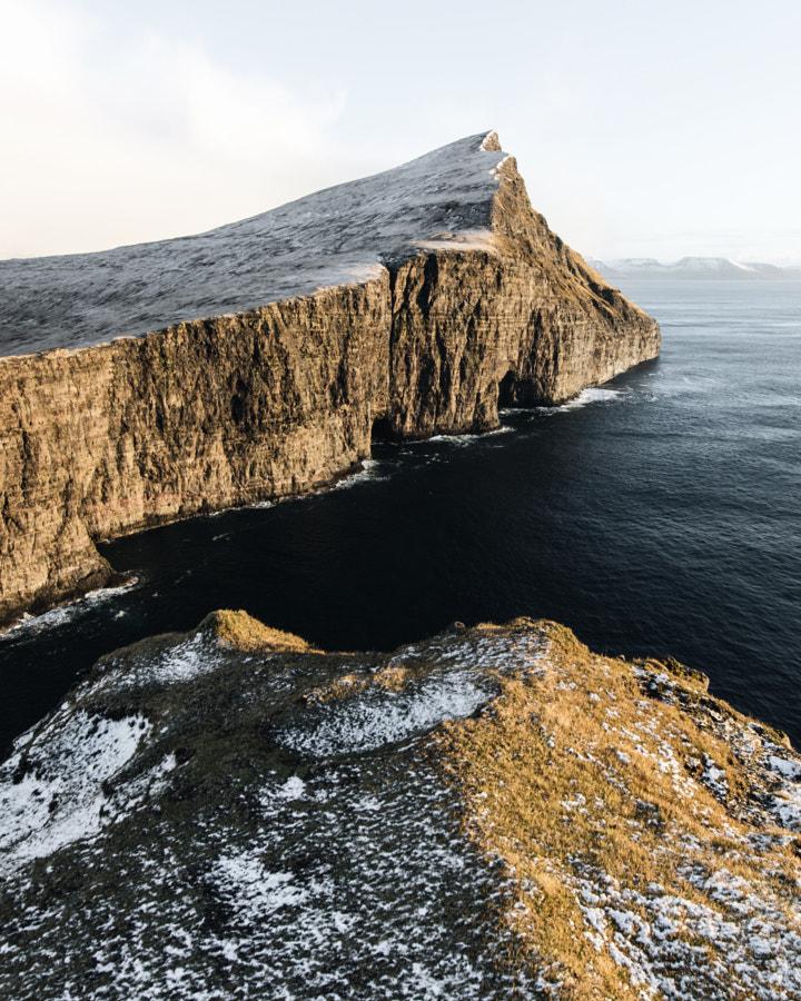 trælanípan. vagar. faroe islands. Catching the lig ... by Tanner Wendell Stewart on 500px.com