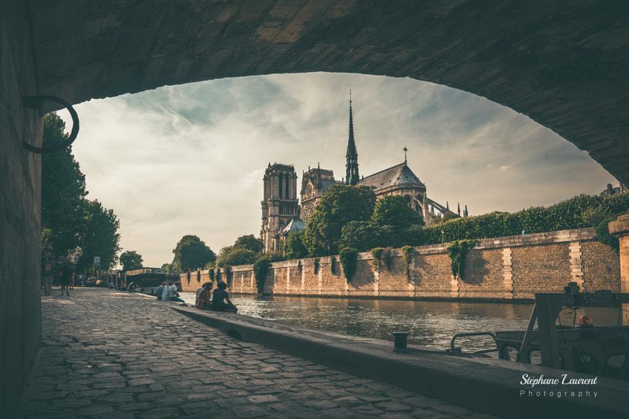 Notre Dame framed, автор — Stephane LAURENT на 500px.com