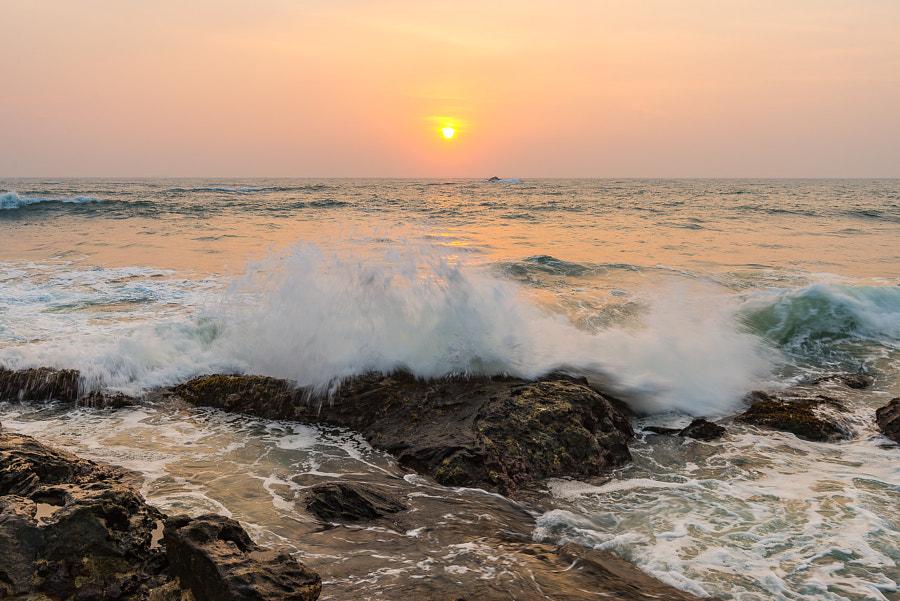 Galle sunset, Sri Lanka, автор — Alex Saluk на 500px.com