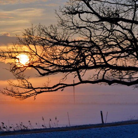 Sunrise, Nikon D3200, AF-S DX Zoom-Nikkor 55-200mm f/4-5.6G ED