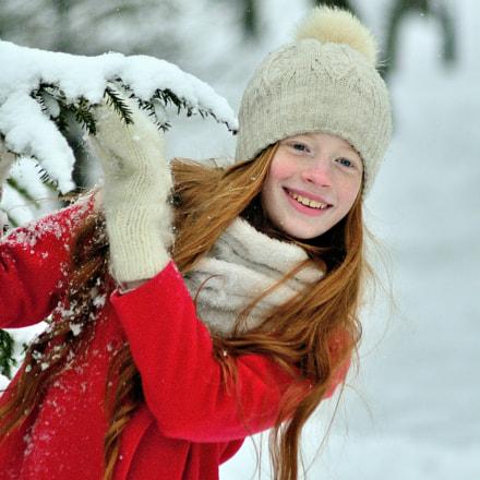 Зима..., Nikon D7000, AF Zoom-Nikkor 70-300mm f/4-5.6G