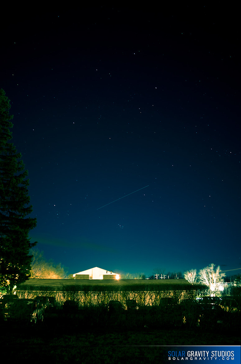 Photograph ISS Flyover April 21, 2011 (International Space Station) by Erik Sacino on 500px