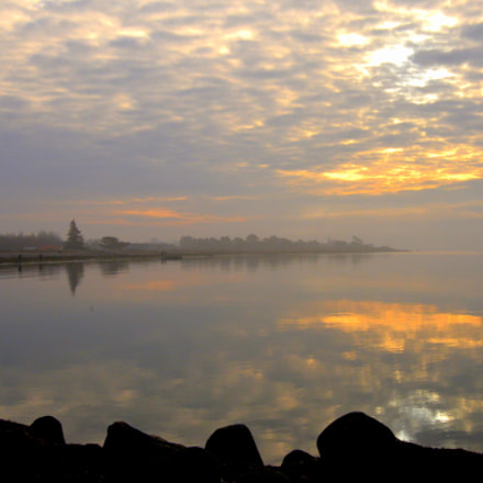 Morning mist, Nikon D610, AF-S VR Zoom-Nikkor 24-85mm f/3.5-4.5G IF-ED
