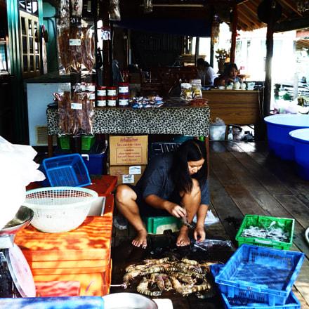 Fishing Shop, Koh Chang, Panasonic DMC-FS16