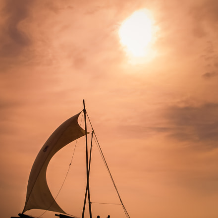 Catamaran at Sunset, Sony DSC-T10