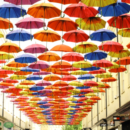Rainbow Umbrella, Canon EOS 1100D, Canon EF 38-76mm f/4.5-5.6
