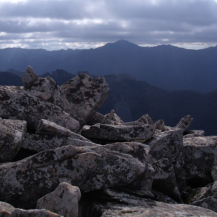 Northwestern Ridge under the, Fujifilm FinePix J110W