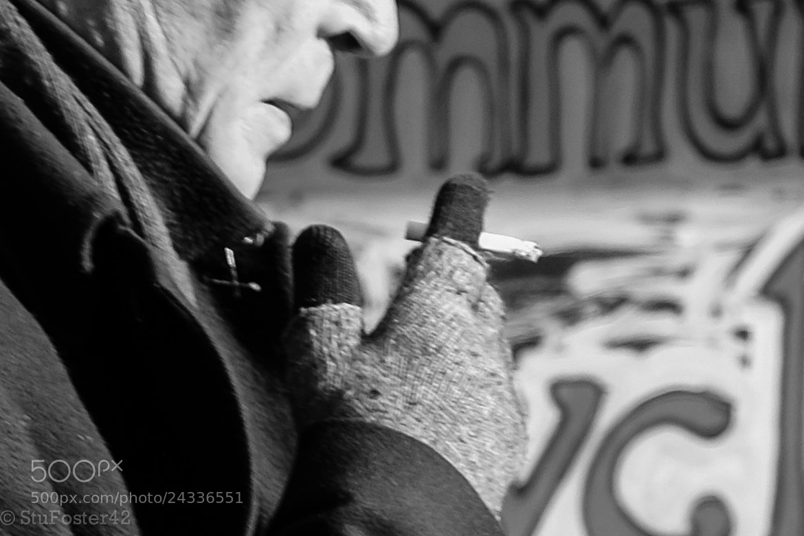 Photograph Winter Smoking by Stuart Foster on 500px