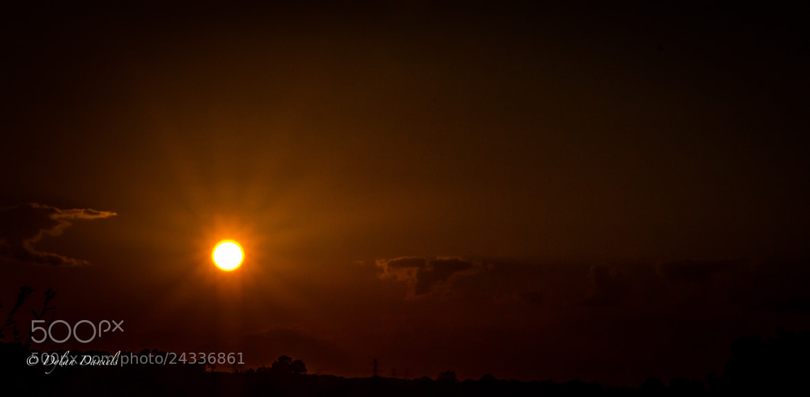 Photograph Setting Sun by Dylan Daniels on 500px