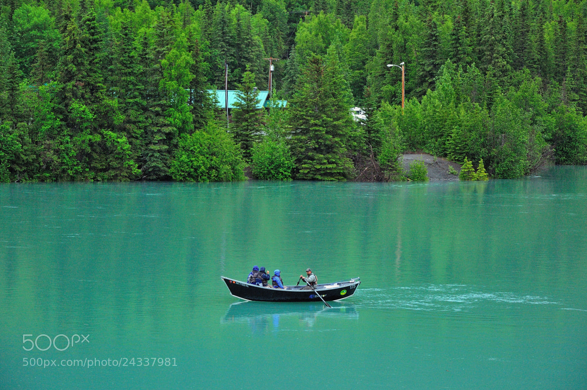 Photograph Fishing Tour on the Kenai River by Mark Stevens on 500px