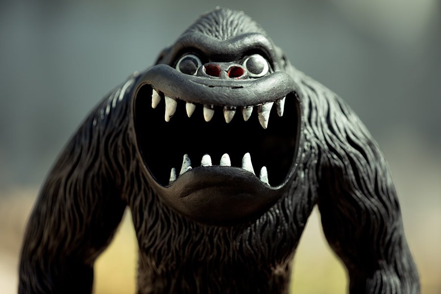 Photograph Monster Mouth by Steve Bullock on 500px