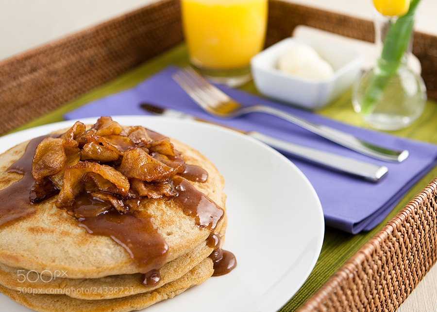 Photograph Apple Cinnamon Pancakes by Steve Bullock on 500px