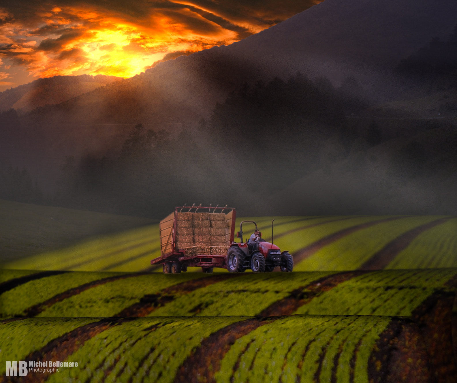 Photograph Late farming by Michel Bellemare on 500px