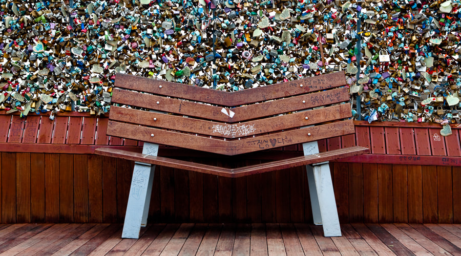 Photograph Locked Bench by Robert Tea on 500px
