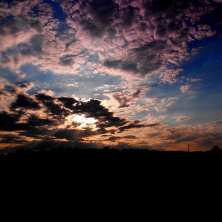 Sky, Nikon COOLPIX S4100