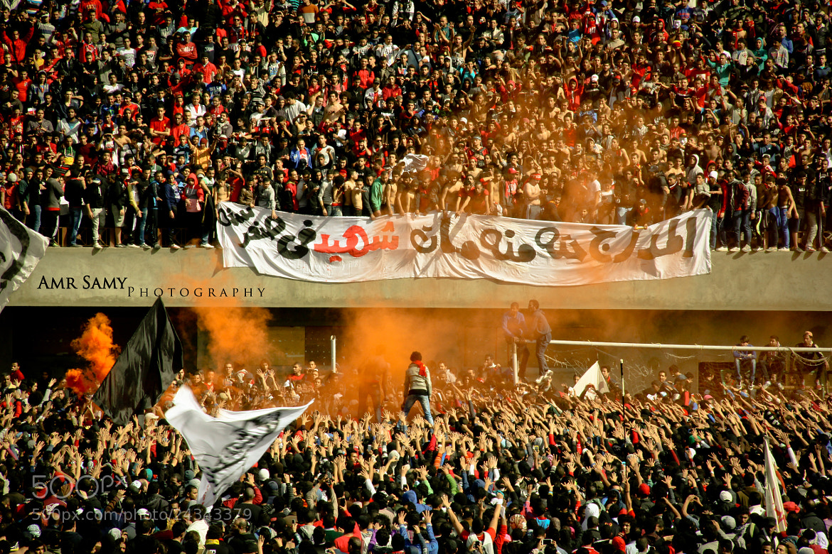 Photograph Ultras Ahlawy celebrates  by Amr  Samy on 500px