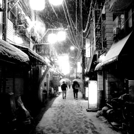 Winter in Tokyo, Pentax K-X