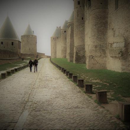 2 alone in carcassonne, Fujifilm FinePix Z30