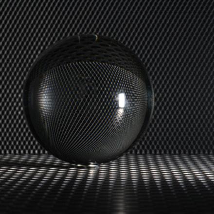 Grey ball, Nikon D5200, AF-S VR Micro-Nikkor 105mm f/2.8G IF-ED