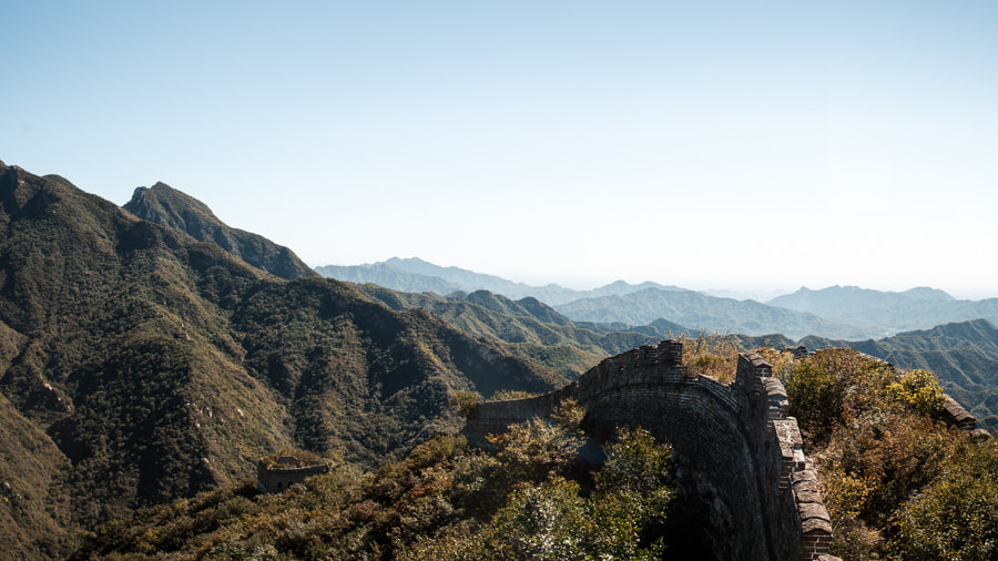 Photograph The Unrestored Great Wall by Robert Tea on 500px