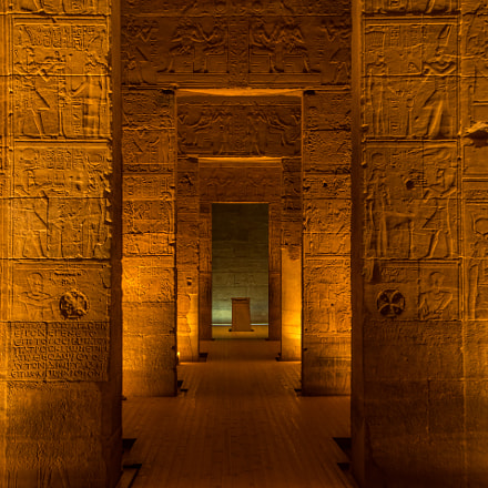the holy of holies in philae temple