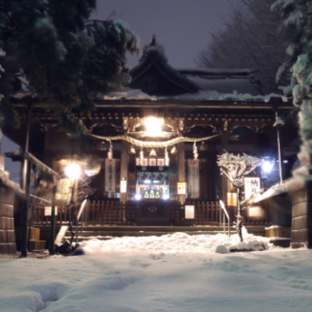 Winter Shrine 冬の寺, Pentax K-X