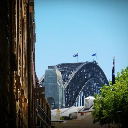 Harbour bridge., Nikon COOLPIX AW110