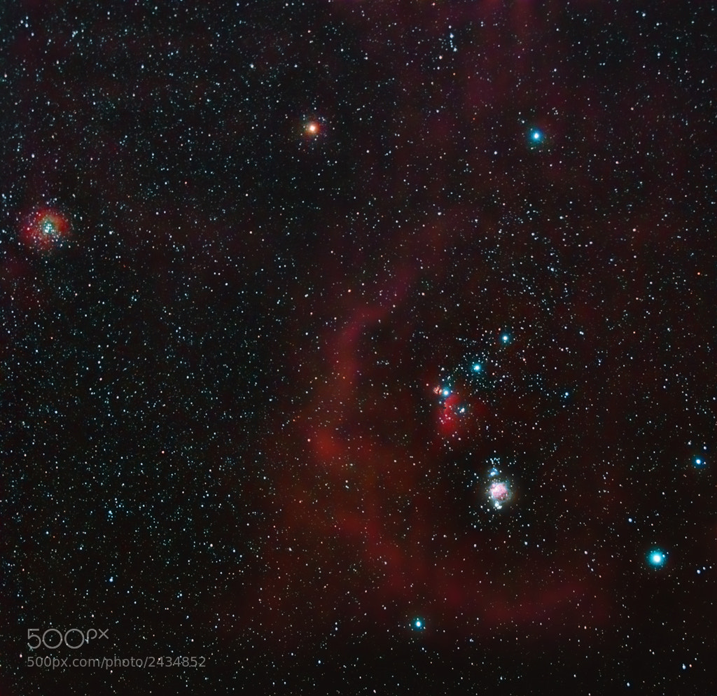 Photograph Orion constellation by Rafael Defavari on 500px