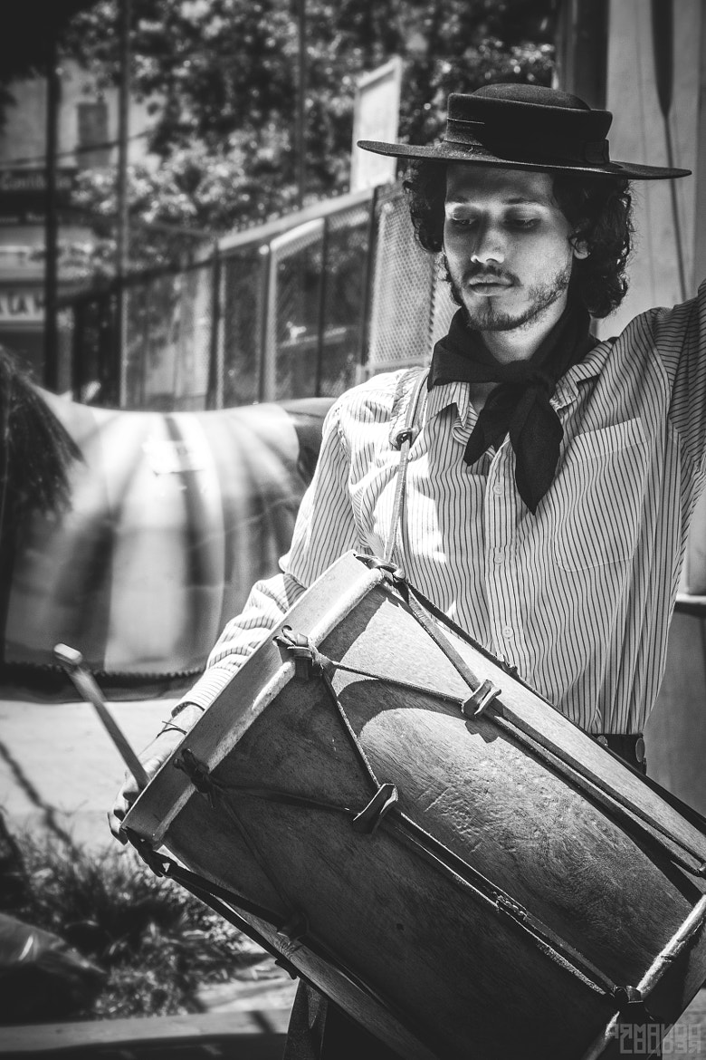 Photograph StreetMusic Buenos Aires by Armando Louder on 500px