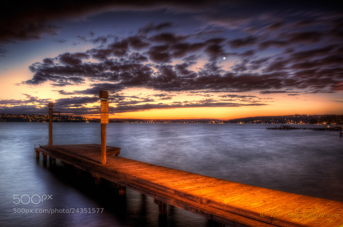 Photograph Lake Washington Pier - Kirkland by Tony Seeley on 500px