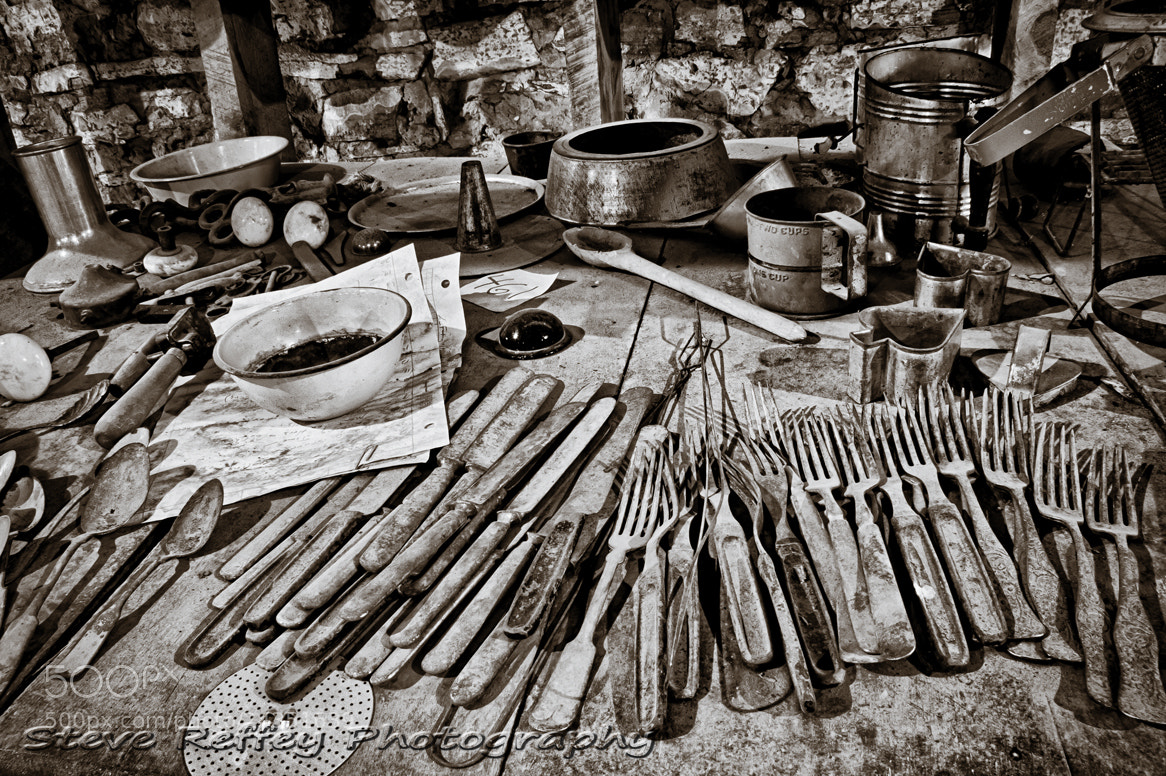Photograph Forgotten Utensils by Steve Reffey on 500px