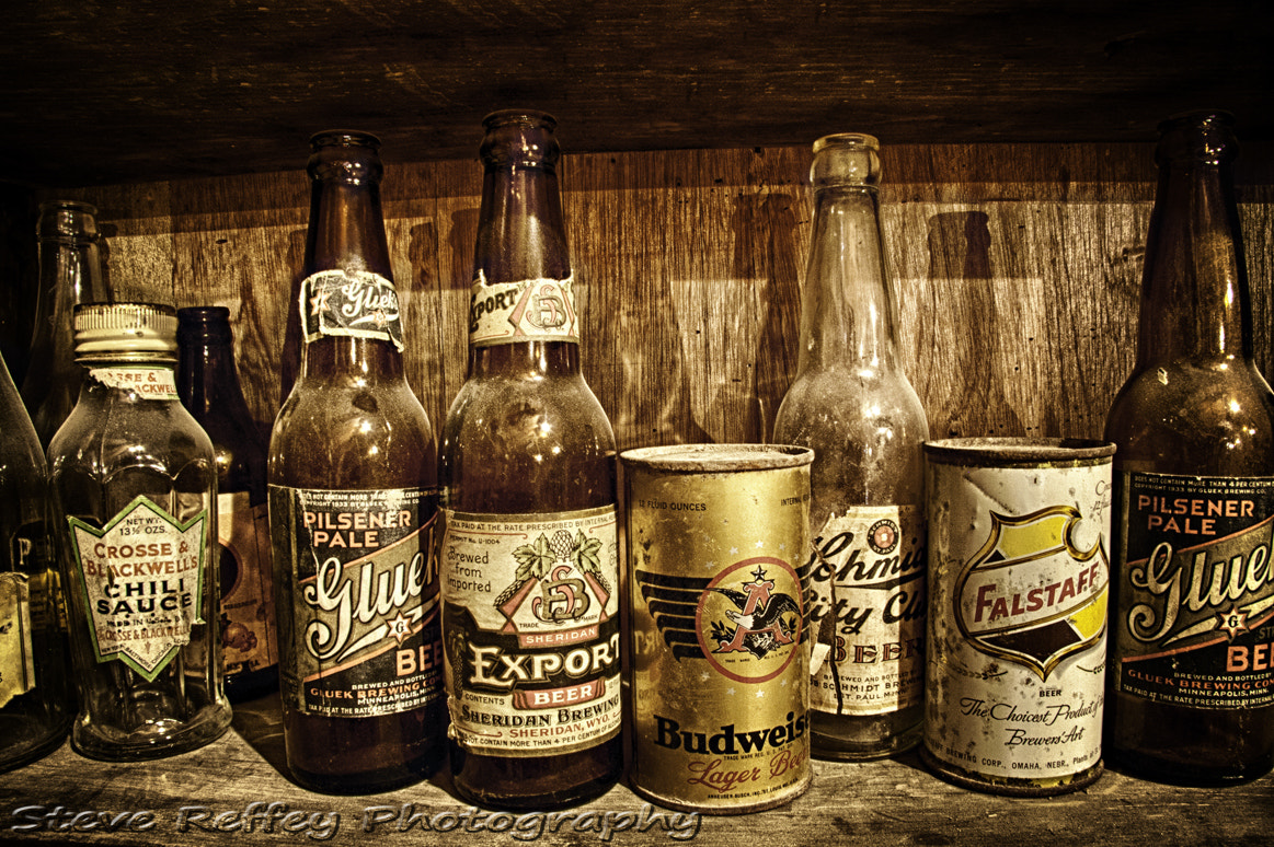 Photograph Beers of Yesteryear by Steve Reffey on 500px