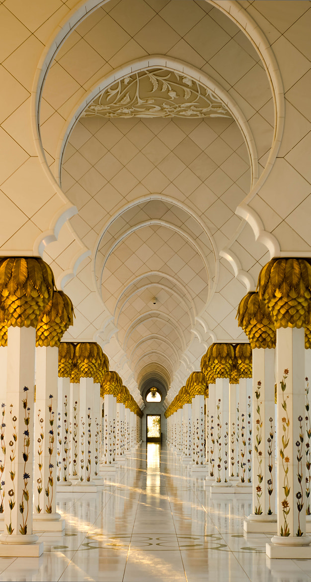 Photograph The Pillars - The Grand Mosque by julian john on 500px